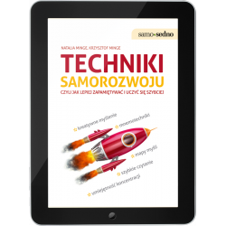 Techniki samorozwoju czyli jak lepiej zapamiętywać i uczyć się szybciej (e-book)